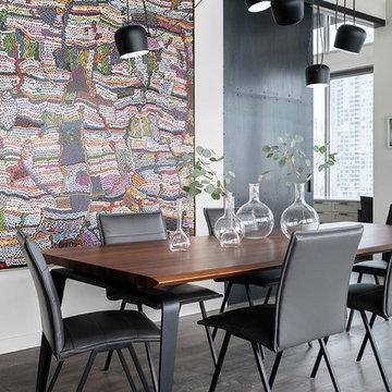 Urban Loft Dining Room