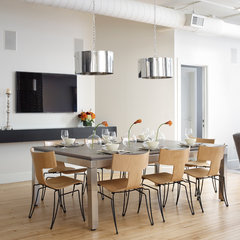 modern dining room by Tom Stringer Design Partners