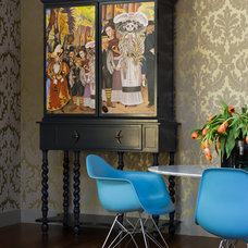 Eclectic Dining Room by Applegate Tran Interiors