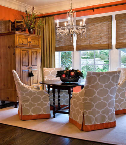 Traditional Dining Room by LORRAINE G VALE, Allied ASID