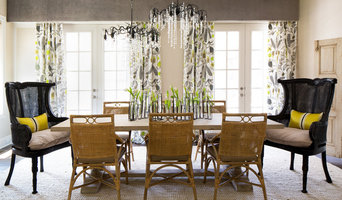 Urban Tropical Formal Dining Room