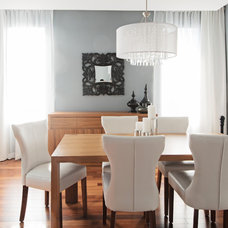 Contemporary Dining Room by David Giral Photography