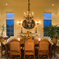 Traditional Dining Room by KGA Studio Architects