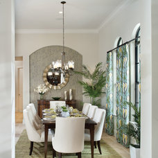 Mediterranean Dining Room by Arthur Rutenberg Homes