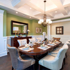 Traditional Dining Room by fersht studio