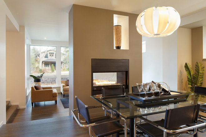 Modern Dining Room by HMH Architecture + Interiors