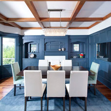 Transitional Dining Room by Klondike Contracting