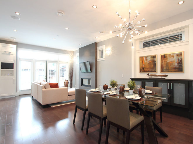 Contemporary Dining Room by Space Harmony