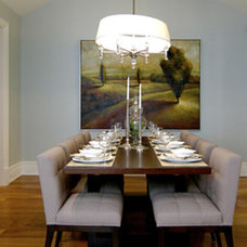Contemporary Dining Room by Revamp