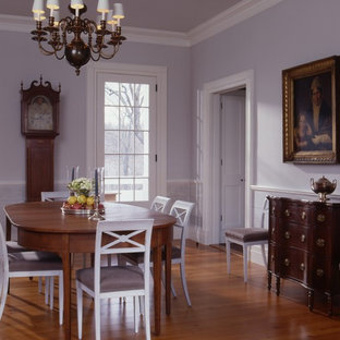 Inspiration for a traditional dining room in DC Metro.