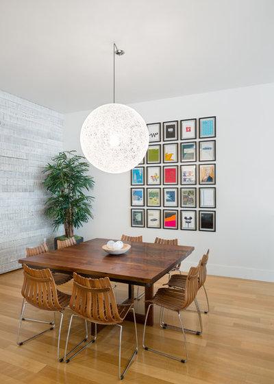 Contemporain Salle à Manger by Josh Partee | Architectural Photographer