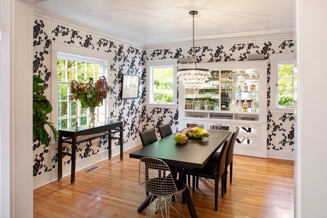 Contemporary Dining Room by Josh Partee | Architectural Photographer