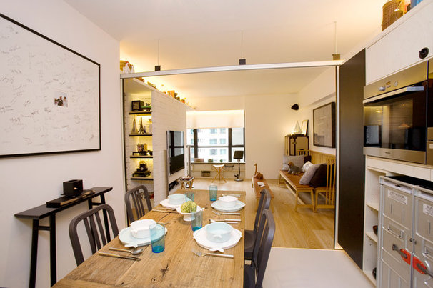 Contemporary Dining Room by Clifton Leung Design Workshop - CLDW.com.hk