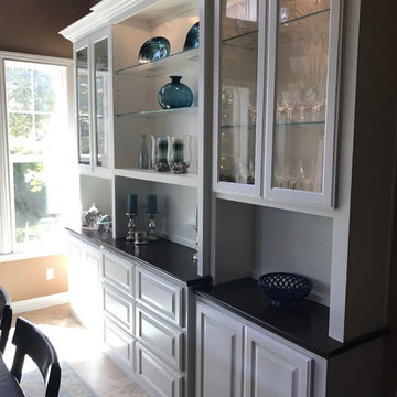 Various Built-Ins, Entertainment Centers, and Shelving