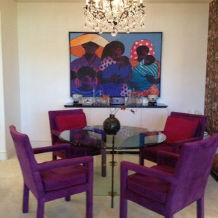 Inspiration for a traditional dining room in Phoenix.