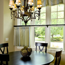 Contemporary Dining Room by Carolina Design Associates, LLC