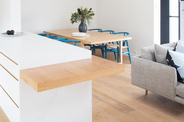 Contemporary Dining Room by Connors & Co.