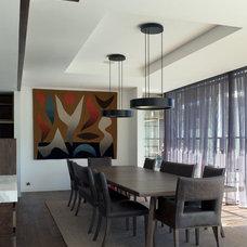 Contemporary Dining Room by Horizon Habitats