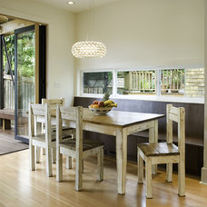 Contemporary Dining Room by BAAN design