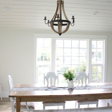 Vaulted Ceiling Dining