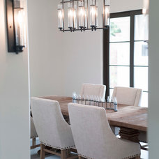 Transitional Dining Room by Illuminations