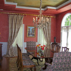 Traditional Dining Room by Molto Bene Studios
