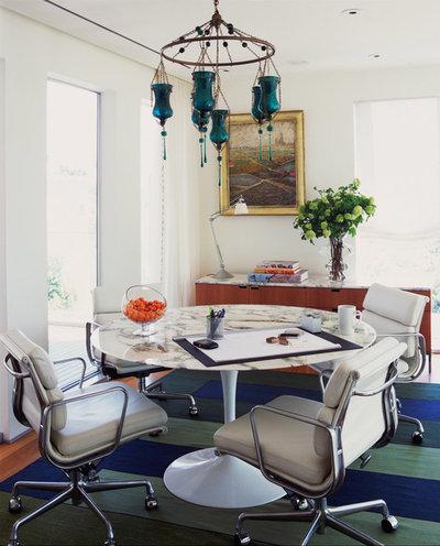 Contemporary Dining Room by Katie Leede & Company Studio