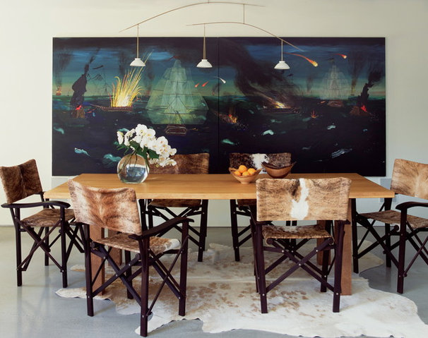 Contemporary Dining Room by Digs By Katie | Katie Leede & Company