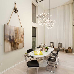 contemporary dining room by Susan Manrao Design