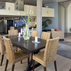 Contemporary Dining Room by Verdigris