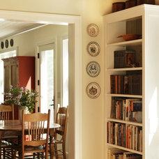 Farmhouse Dining Room by Joan Heaton Architects