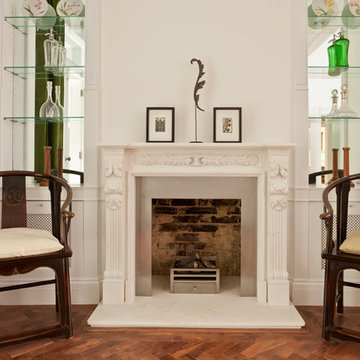 Versaille marble fireplace
