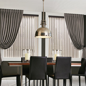 VERTICAL VINYL BLINDS - Graber Dining Room Ideas