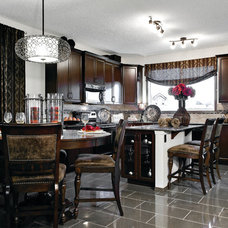 Traditional Dining Room by Shane Homes Ltd.