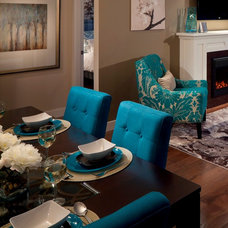 Contemporary Dining Room by Concept to Design Inc.