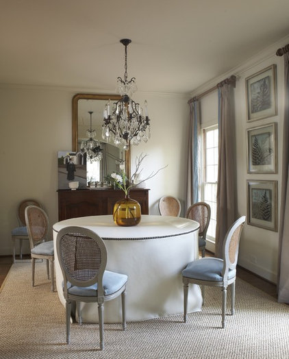 contemporary dining room by Dana Wolter