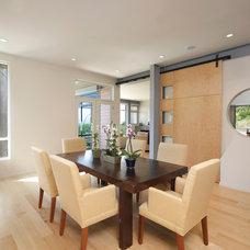 Modern Dining Room by HartmanBaldwin Design/Build