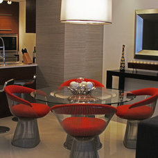 Contemporary Dining Room by Lorena Interiors