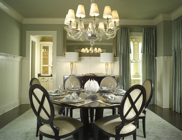 Traditional Dining Room by Dwell Design Studio
