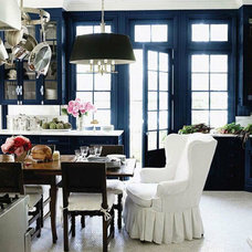 Eclectic Dining Room Victor Silva