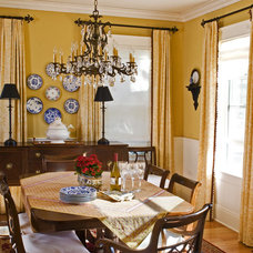 Traditional Dining Room by Allen Construction