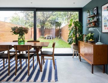 Victorian Terrace Double Reception Room & Kitchen