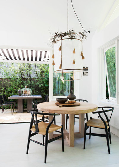 Country Dining Room by Villa and Villa