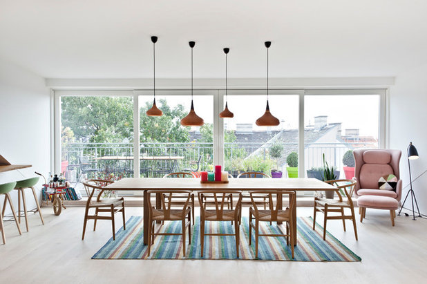 Scandinave Salle à Manger by DG Photography