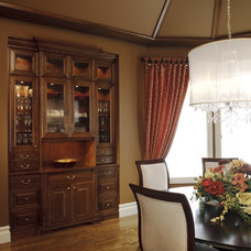 Traditional Dining Room by A Collaborative Design Group