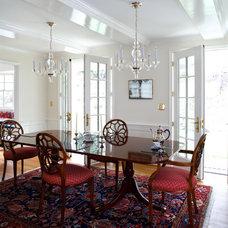 Traditional Dining Room by AHMANN LLC