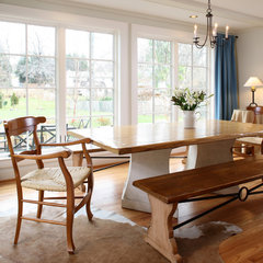 contemporary dining room by AHMANN LLC