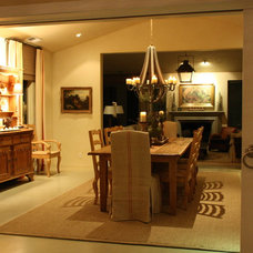 Traditional Dining Room by Vignette Design