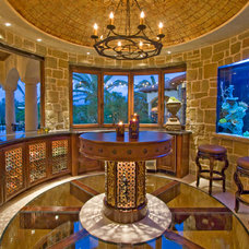 Mediterranean Dining Room by Arc Design Group