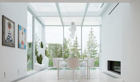 Casas Houzz: Una elegante vivienda ¡de 900 m²! en Moscú